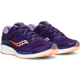 saucony Hurricane ISO 5 Schuhe Damen purple/peach